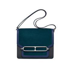 Hermès accessoires - # 2 – Hermès-Sac Roulis en veau Doblis, Sombrero, Swift
