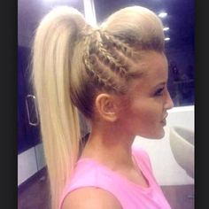 Easy to do with The Pasoday Ponytail!