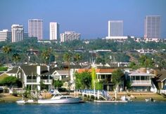 Costa Mesa, California - visited Paul's sister in 1990 and rented a car took Paul to take the LSAT's and I drove up to Malibu and walked along the beach and toured the city for 8 hours