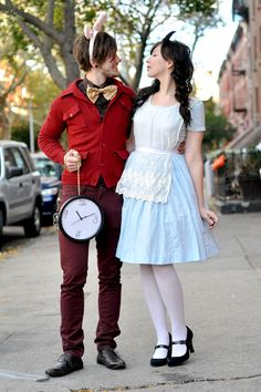 alice in wonderland. Not for wedding...just...for love and halloween.