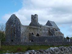 old irish abbey, the burren ireland