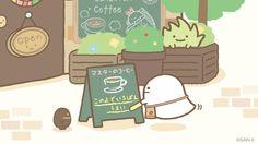 """すみっコぐらし【公式】 on Twitter: """"おばけ、開店準備中☕  おばけによるとマスターのコーヒーは、 「このよでいちばんうまい」とか… #喫茶すみっコ https://t.co/ZpB2CJRdQM"""""""