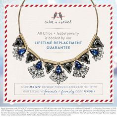 Did you know all of our jewelry is backed by our Lifetime Replacement Guarantee? Shop forever-gifts with our Friends + Family sale now!