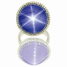 Star Sapphire Ring - my future husband gave me a star sapphire for high school graduation!