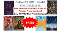 WOOHOO! Get a FREE New Release Kindle Book with Amazon First Reads! I love getting a new book every month!  Click the link below to get all of the details ► http://www.thecouponingcouple.com/amazon-first-reads/ #Coupons #Couponing #CouponCommunity  Visit us at http://www.thecouponingcouple.com for more great posts!