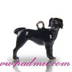 Porte-clés Labrador noir 3D - 6.4e