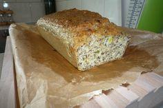 Zeer koolhydraat-arm prei-kaasbrood uit receptenboek Grip op Koolhydraten