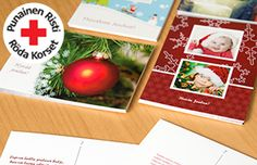 Muista rakkaitasi jouluna ja auta samalla hädänalaisia ihmisiä. Omista kuvista tehtyjä Punaisen Ristin joulukortteja ja vuoden 2015 seinäkalentereita voi tilata netissä http://www.ifolor.fi/suomen_punainen_risti