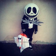 The Coolest Jack Skellington and Zero Costume… Coolest Halloween Costume Contest