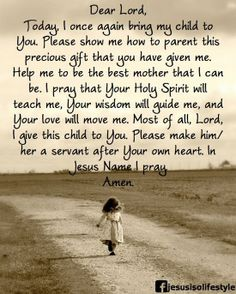 A Parenting Prayer