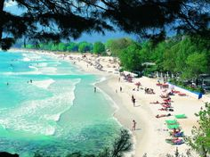 The Island of Thassos is a real treasure for the country of Greece. Oh The Places You'll Go, Places To Travel, Places To Visit, Beautiful Islands, Beautiful Beaches, Dream Vacations, Vacation Spots, Places In Greece, Greece Islands