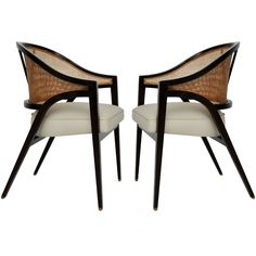Dunbar arm chairs - Edward Wormley  For the home...of my dreams!!!