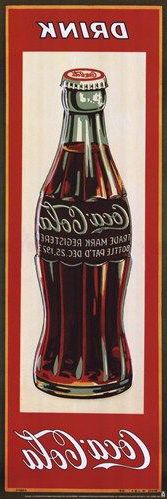 Coca-Cola, Drink Coke limited edition vintage advertising art poster from Enjoy Art. Vintage Coca Cola, Coca Cola Poster, Coca Cola Ad, Vintage Labels, Vintage Cards, Poster S, Poster Prints, Etiquette Vintage, Foto Transfer