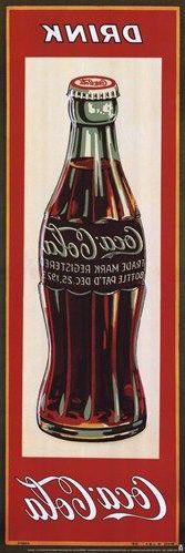 Coca-Cola, Drink Coke limited edition vintage advertising art poster from Enjoy Art. Coca Cola Poster, Coca Cola Ad, Pepsi, Vintage Labels, Vintage Cards, Coca Cola Vintage, Etiquette Vintage, Foto Transfer, Images Vintage