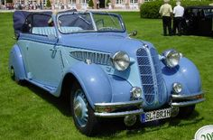 BMW 326 Convertible, 1936 Perfect Cottage Car!