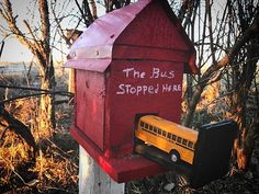 Here's a good geocache for any bus drivers. Thank you to all hiders who go the extra mile to make a fun cache! Geocaching Containers, More Fun, Extra Mile, Cool Stuff, Effort, Creative, Outdoor Decor, How To Make, Instagram