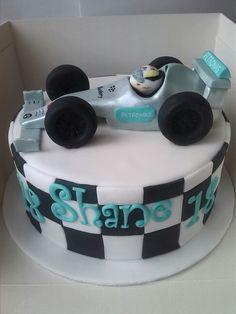 Lewis Hamilton F1 cake