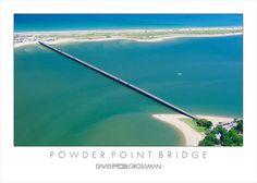Powder Point Bridge Duxbury, MA (wooden bridge)