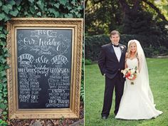 dat chalkboard >> Photography by The Nichols. Floral + Event Design + Paper Goods by The Nouveau Romantics