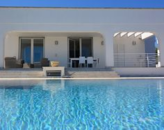 Immerse yourself in this enchanting #pool next to an immaculate #villa in #Apulia Gate, Swimming Pools, Villa, Relax, Italy, Bedroom, Outdoor Decor, Home Decor, Room