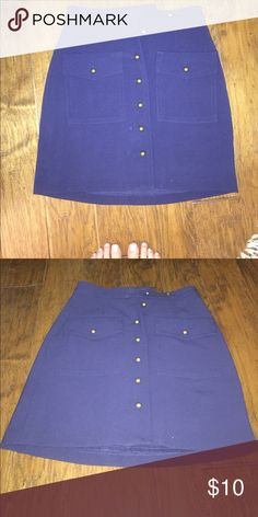 Navy Skirt BRAND NEW perfect for work Skirts Midi
