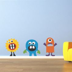 monsters for the playroom