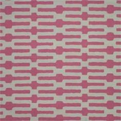Annie Selke Links 001 Pink Designer Fabric  Our Price: $19.98 per yard