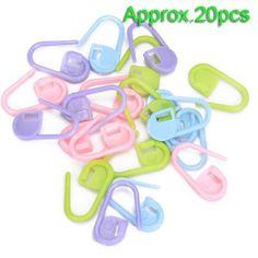 20pcs Crochet Tricot Verrouillage marqueurs de mailles / Peut également être utilisé comme une épingle couche sur une carte de voeux nouveau bébé TOOGOO(R) http://www.amazon.fr/dp/B008QSJDGK/ref=cm_sw_r_pi_dp_Vgr9ub1YBNXFT