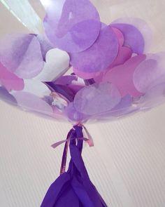 Purple bubble balloon