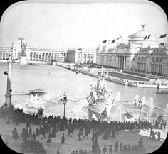 World's Columbian Exposition are held in Chicago,  | World's Columbian Exposition: Court of Honor, Chicago, United States ...