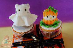 Halloween de Hello Kitty Cupcake