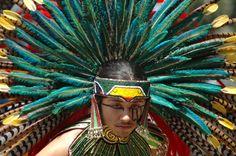 Aztec Costumes | Authentically Costumed Aztec Dancers 5 by Stuart BakerNIKON D70 - 1 ...
