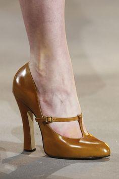Marc Jacobs t-strap shoes High Heel Pumps, Pumps Heels, Stiletto Heels, Shoes Sandals, Orange High Heels, T Strap Shoes, Ankle Straps, Shoes 2014, Outfit Trends