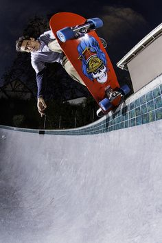 lance mountain, the best skater in the bowl.