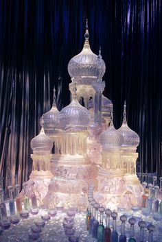 The Yule Ball Ice Sculpture – winter – Natur Sculpture Textile, Sculpture Art, Abstract Sculpture, Bronze Sculpture, Snow And Ice, Fire And Ice, Snow Sculptures, Metal Sculptures, Ice Art