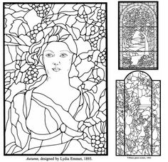 How to Draw for a Stained Glass Cross | Click to see ...