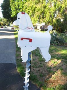 Poodle mailbox