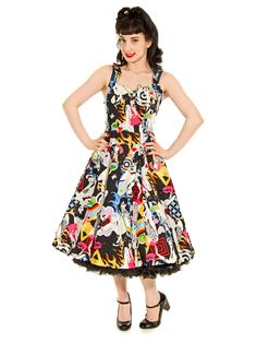 Banned AH 50s Dress (Multi-Coloured)