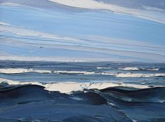 Matthew Snowden | Thackeray Gallery, London #LandscapeSea