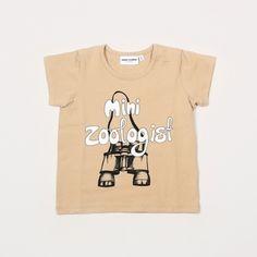 Mini Zoologist Tee by Mini Rodini