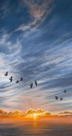 Winter Solstice, UK Artist Jeremy Paul