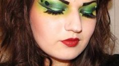 frog halloween makeup - Google Search