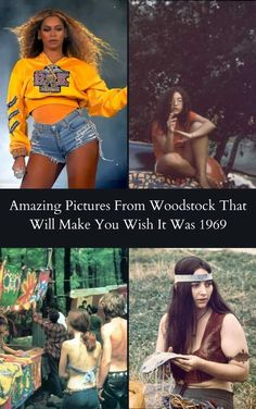 50 years after the iconic Woodstock era and the cultural spirit, iconic fashion and influence of the music still remain like age-old wine, getting better as time passes. #Amazing #Pictures #Woodstock #1969