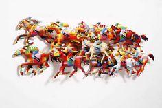 David Gerstein: Wall Sculptures | Hippodrome