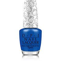 OPI - Hello Kitty Nail Lacquer Collection in My Pal Joey (true blue) #ultabeauty