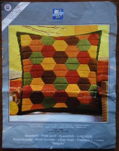 Vervaco Long Stitch Cushion Cover
