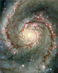 Spiral Galaxy, #Science  #Nature The heavens declare the glory of The Lord