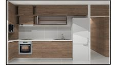 3D Model of Kitchen May 2010