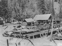 Merrill's Mill, Owl Creek, Mariposa County, Sierra Nevada (1935-1947)  - belonged to my great grandfather.