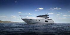 El yate Princess V48 Open, nominado al European Powerboat of the Year 2014